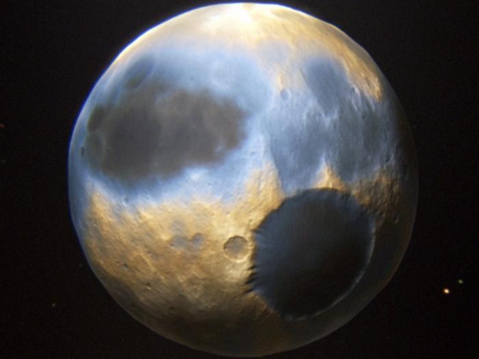 Plutão e a expressão da transformação pelas cas